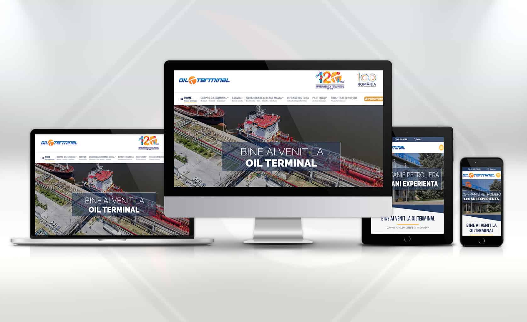 Design Website - Oil-terminal.com
